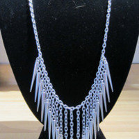 www.shop-savage.com ; Extended Spike Necklace