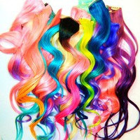 Paradise 20 Pieces Ombre Wigs Hair Clip Hair Extension[981]