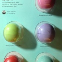 eos Organic Smooth Sphere Lip Balm - Summer Fruit, Sweet Mint, Strawberry Sorbet, Passion Fruit, Honeysuckle Honeydew (5 Pack): Health & Personal Care