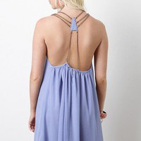 Watch My Back Dress