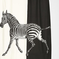 Urban Outfitters - La Rococco Zebra Shower Curtain