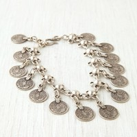 Free People Metal Charm Anklet