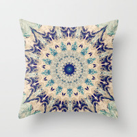 Oceanic  Throw Pillow by Abstracts by Josrick