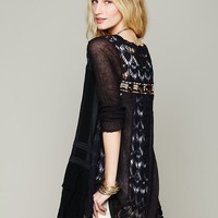 Free People Pieced Cardigan