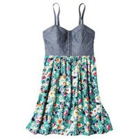Xhilaration® Juniors Printed Dress - Assorted Colors