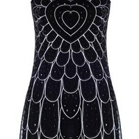 Embellished Flapper Dress | Retro Sequin Dresses | Rickety Rack