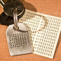 Binary Love Keyring at Firebox.com