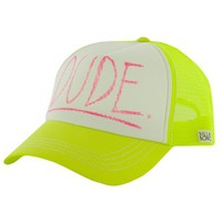 Billabong Meet Me Trucker Hat - Lemon Twist - JAHT2MEE				 |  			Billabong 					US