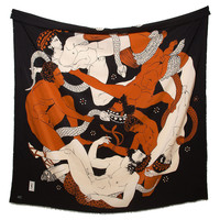 One Kings Lane - Hilary Knight - Silk Yves Saint-Laurent Scarf
