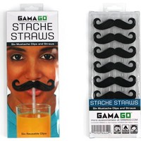 Stache Straws