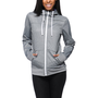 Empyre Girls Essential Black Speckle Full Zip Tech Fleece Jacket