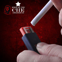 No Fire Windproof USB Lighter-Guevara Commemorative Edition from GeekFunny