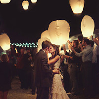 Wedding Reception Sky Lanterns - 36 Pack