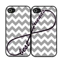 Chevron Grey Best Friends Set Of T...