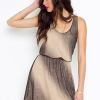 Ombre Sparkle Dress in Sale at Nasty Gal