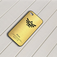 Zelda Triforce Gold iPhone 5 Case