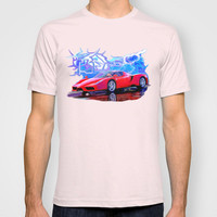 Ferrari Enzo T-shirt by JT Digital Art