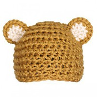 Handmade Gifts | Independent Design | Vintage Goods Crocheted Bear Hat - Accessories - Girls