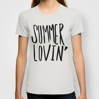 Summer Lovin' T-shirt by Leah Flores Designs