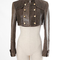 Dolce & Gabbana Runway Baroque Cropped Lambskin Jacket Dolce & Gabbana 6 by Editors' Picks