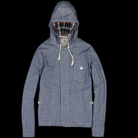 UNIONMADE - J. Press York St. - Chambray Hooded Jacket