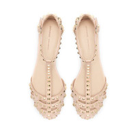 STUDDED SANDAL - Flats - Shoes - Woman - ZARA United States