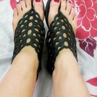 Melissa Flat Sandals  from sniksa