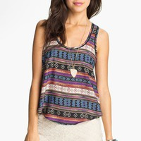 Lush Print Tank (Juniors) | Nordstrom