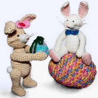 Buy Easter Bunnies pattern - AmigurumiPatterns.net