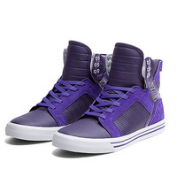 SUPRA SKYTOP | PURPLE / WHITE - WHITE | Official SUPRA Footwear Site