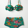 Nanette Lepore Kimono Floral Bikini