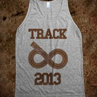 Track Infinity (tank) - Sports - Skreened T-shirts, Organic Shirts, Hoodies, Kids Tees, Baby One-Pieces and Tote Bags