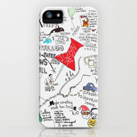 Paper towns, John Green iPhone & iPod Case by Natasha Ramon