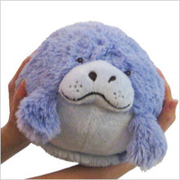 Mini Squishable Manatee: An Adorable Fuzzy Plush to Snurfle and Squeeze!