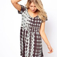 Oh My Love T Shirt Dress in Tie Dye at asos.com