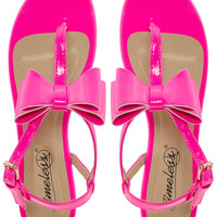 Timeless Bow Sandal
