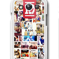 Personalized ONE DIRECTION 1D Logo Photo Collage Custom- Samsung Galaxy S3 Case Samsung Galaxy SIII Case ,