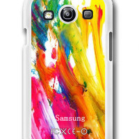 Colorful Paint - Samsung Galaxy S3 Case Samsung Galaxy SIII Case ,