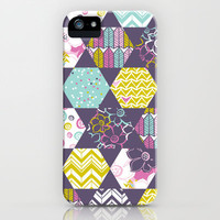 Garden Party Festive Hexi iPhone &amp; iPod Case by Heather Dutton