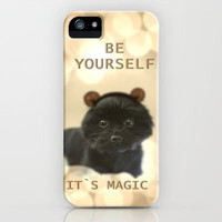 CUTE PUPPY *** DOG *** MAGIC  iPhone & iPod Case by M✿nika  Strigel for iphone + Samsung Galaxy + ipod touch