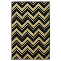 Mohawk Select Strata Neutral Lascala Chevron Stripe Rug
