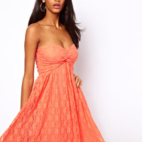 ASOS Pretty Lace Skater Dress