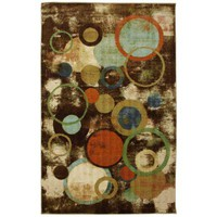 Kaleidoscope Texture Multi 8 ft. x 10 ft. Area Rug-368524 at The Home Depot
