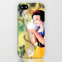 Snow White and Apple Iphone 4/4s/5 case Hard by TICKandPICK