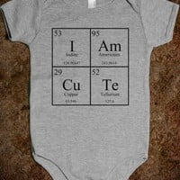 CUTE CHEMISTRY BABY ONSIE - underlinedesigns