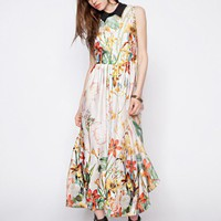 Botanical dress