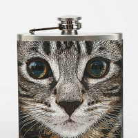 Urban Outfitters - Cat Face Flask