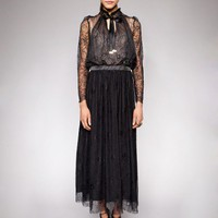 Loulou lace dress