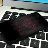 Pink Diamond Supply Co Dark Wood iPhone 4 iPhone 4S Case