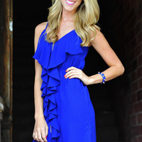 Love Is Enough Dress: Royal Blue | Hope&#x27;s